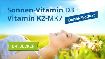 Vitamin K2-MK7 und Vitamin D3 Kombination