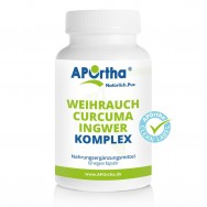 Weihrauch-Curcuma-Ingwer-Komplex - 60 vegane Kapseln